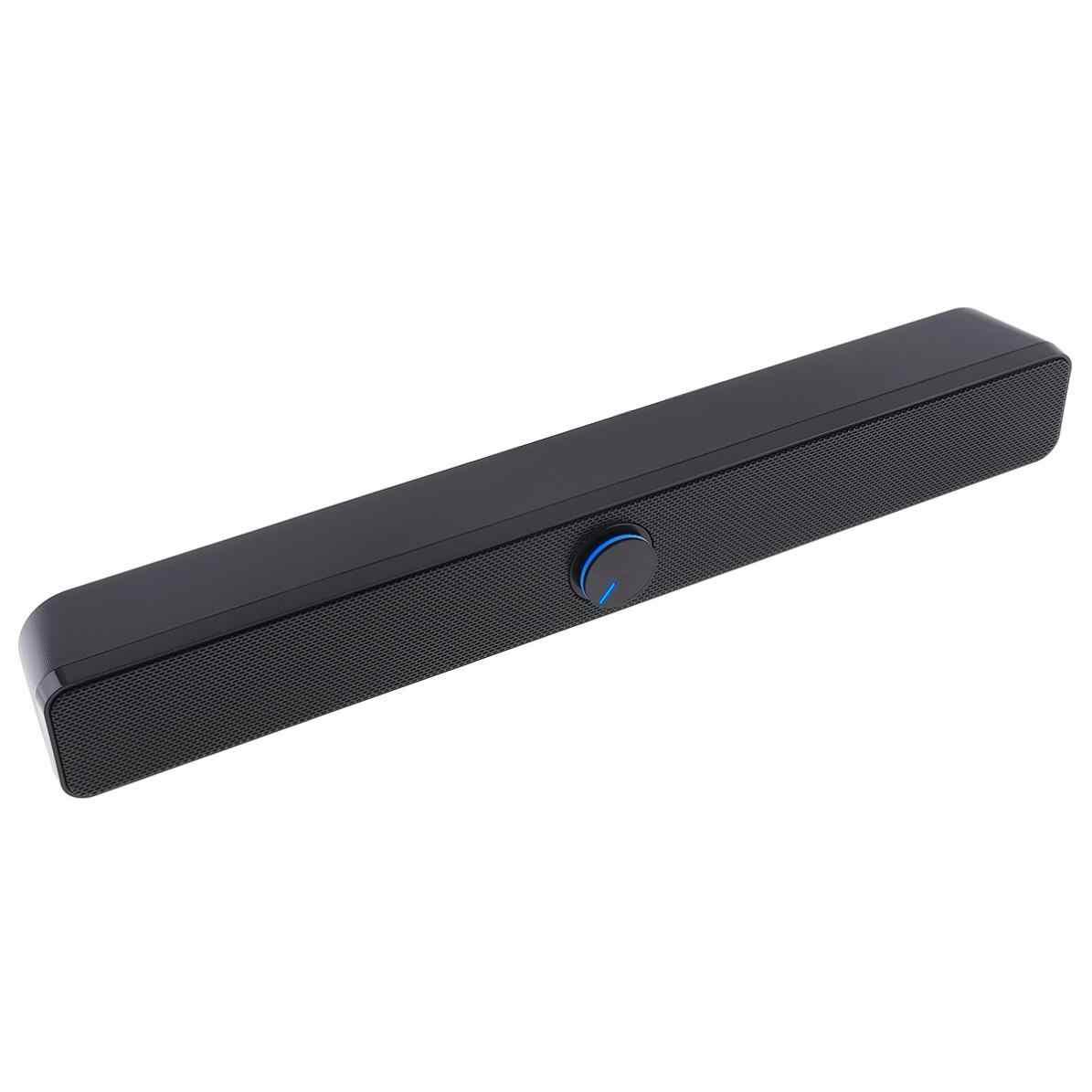 Распродажа сада V-193 рабочего полосы Soundbar, сабвуфер динамик с 3,5 мм стерео джек и USB Powered для ПК/ноутбук/мобильный телефон