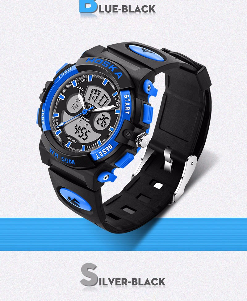 Men's Watches Initiative Fashion Mens Electronic Watches Outdoor Sports Students Watches Waterproof Digital Watches Hour Clock Relogio Masculino Fixing Prices According To Quality Of Products