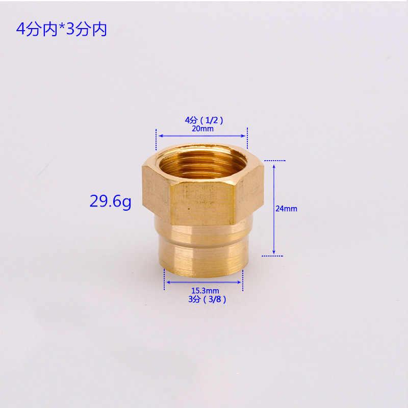 1/8 pulgadas 1/4 pulgadas 3/8 pulgadas 1/2 pulgadas macho roscado latón conector de lengüeta tubo de latón hexagonal pezón adaptador rápido BSP macho