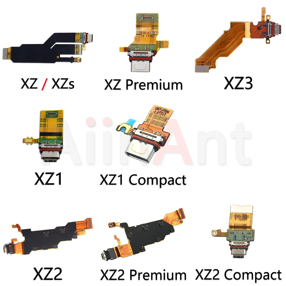 Original <font><b>USB</b></font> Charging Port Charger Dock Connector For Sony Xperia XZ XZs XZ1 XZ2 XZ3 1 <font><b>2</b></font> <font><b>3</b></font> Compact Premium Dock Flex Cable image