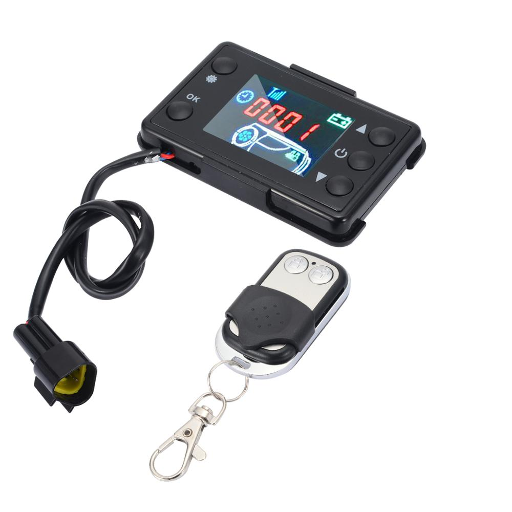 Universal Air Heater Controller 12V/24V LCD Monitor Switch & Remote Control Car Mayitr