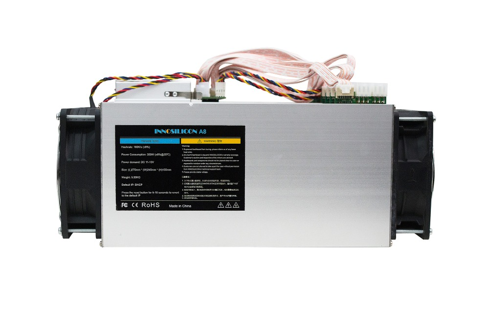 used Innosilicon A8 CryptoMaster 160kh/s CryptoMaster Miner A8 160K 350W ASIC mining machine