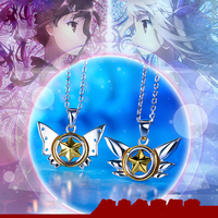 Cute Anime Fate/kaleid liner 925 Silver Pendant with 925 Silver Chain Necklace Illyasviel von Einzbern Jewelry for Girl Women