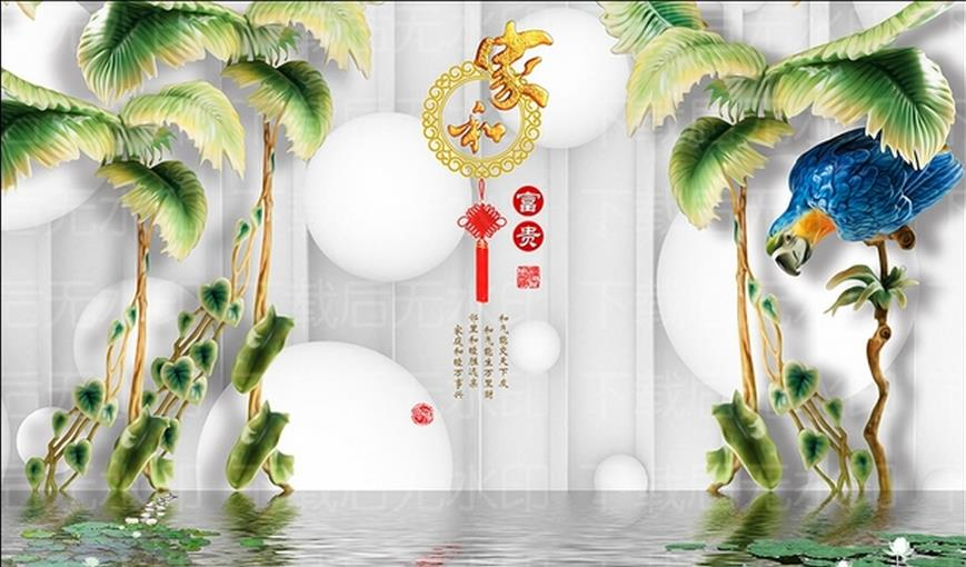 Tropical Wall Murals tropical wall mural promotion-shop for promotional tropical wall