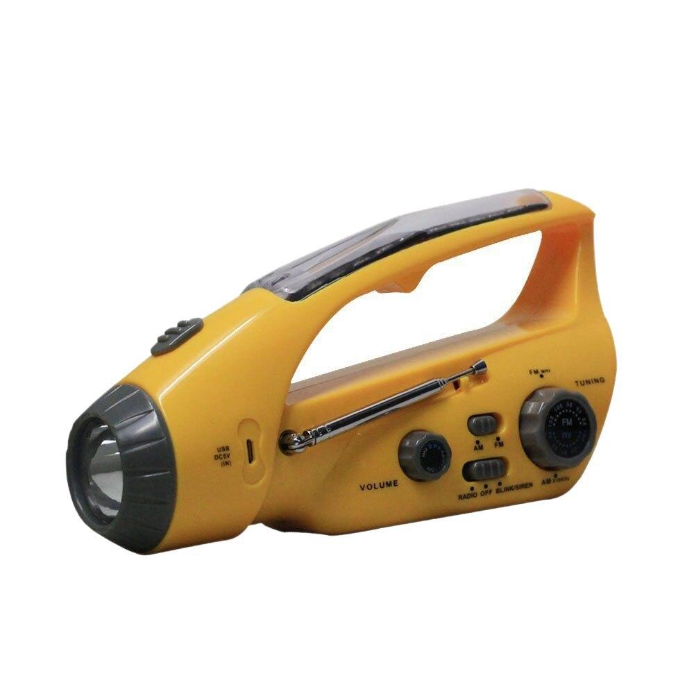 Mylb-xln-288ds самостоятельно Мощность ED Динамо AM/FM Радио с фонариком, солнечный Мощность и сотовый телефон Зарядное устройство