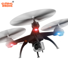 Global Drone Profissional 2.4G 4CH 6-Axis Quadrocopter FPV Wifi Long Rnage RC Drones with Camera HD 1080P VS SYMA X5SW JJRC H31