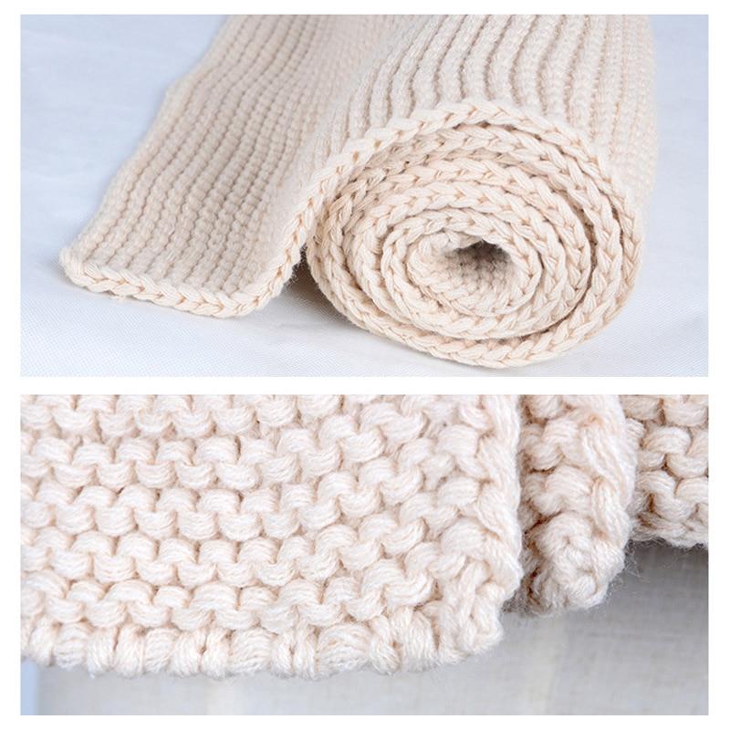 Leo Anvi Knit Long Scarf Women Winter Crochet Bandana More Color