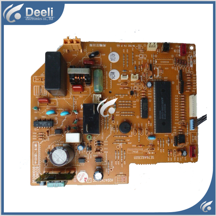 95% new Original for air conditioning computer board DE00N132B SE98A623G01 DE00N100B H2DA860G1 PC board wire universal board computer board six lines 0040400256 0040400257 used disassemble