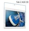 9 h vidrio templado film protector de pantalla para lenovo tab 2 a10 30 a10-30 x30f + alcohol + paño de polvo absorbente