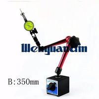 Magnetic Base Holder For Digital Dial Test Indicator Flexible Magnetic Stand Test Gauge Meter Holder 355mm