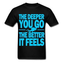 181365c0 2017 Fashion casual streetwear Scuba Diver Quote Men Funny casual  streetwear hip hop printed T shirt