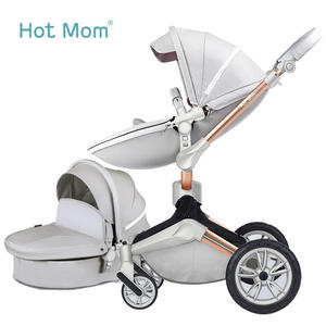 Chair Strollers Hotmom Reclining Folding High-Landscape Children's of 360-Degree Can-Sit