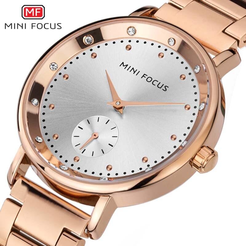 Femmes montres marque de luxe mode Quartz dames montre horloge Rose or robe décontracté fille relogio feminino montres femmes