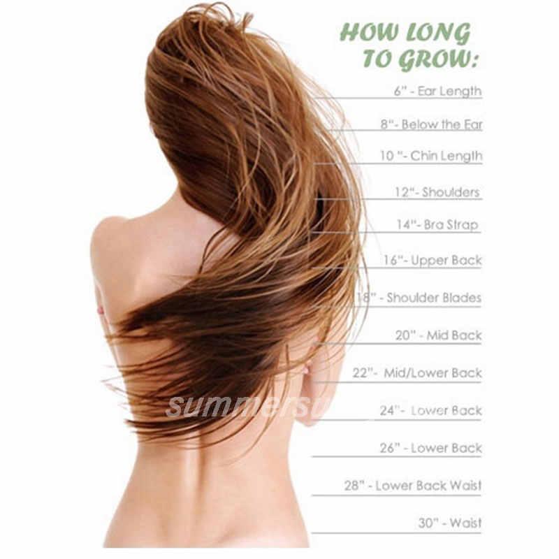 S-noilite 71 см 28 дюймов Длинные Синтетические волосы клип в одной части волос расширение термостойкие накладные волосы естественные волнистые волосы кусок