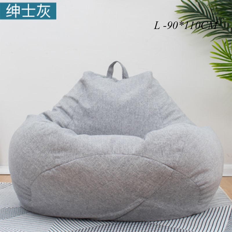 Incredible Us 23 79 35 Off Bean Bag Sofa Chairs Cover Without Filler Pouf Lounger Chaise Living Room Furniture Puf Beanbag Sofas Ottoman Lazy Bag Office In Pabps2019 Chair Design Images Pabps2019Com