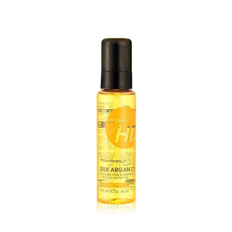 BEST Korea Cosmetic Make HD Silk Argan Oil 85ml Hair Care Sc