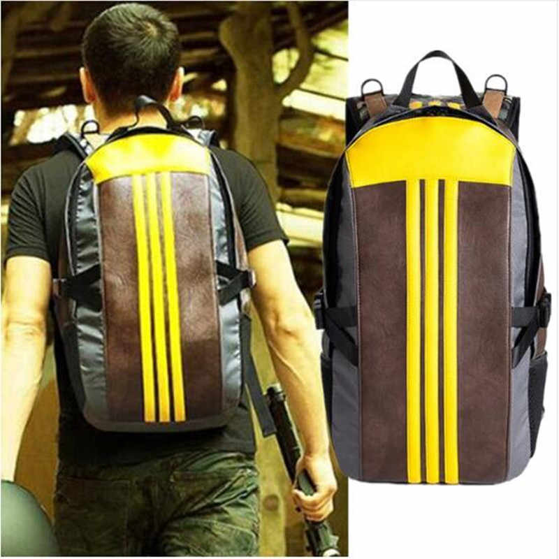 Hot Game PUBG Backpack Cosplay Costumes Props Parachute Package PU Cartoon Students School Bag Young Fashion Christmas Gift