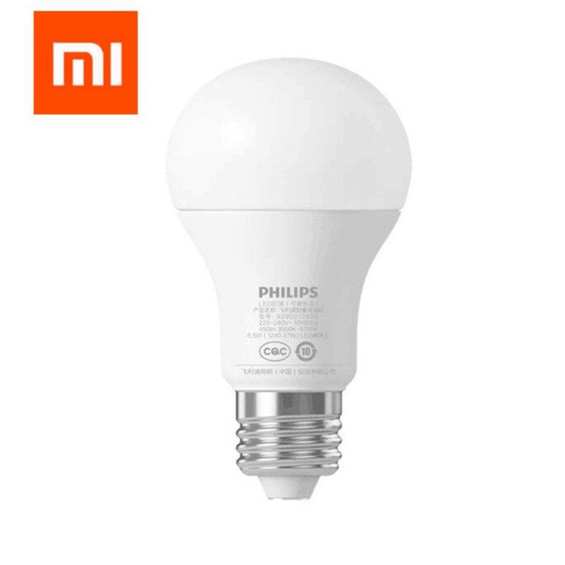 Origine Xiao mi mi jia smart blanc Led E27 AMPOULE MI Lumière app wifi À DISTANCE Groupe Contrôle 3000 K- 5700 k 6.5 w 450lm 220-240 v 50/60 hz