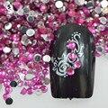 Сара Маникюрный Салон 20000 шт. 1.5 мм 3D Crystal Nail Art Украшение Ногтей с Блестками Горный Хрусталь Для DIY Советы Маникюр 12 цвета NC328