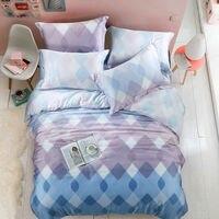 Super Soft 40s Tencel Bedding Sets King Queen Size Duvet Cover Europe Plant Bedsheet Pillowcase 4pcs