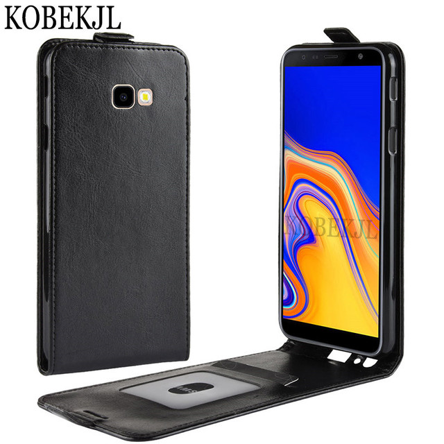 newest d3e58 8c8bf US $3.59 15% OFF|For Flip Case Samsung Galaxy J4 Core Case Cover PU Leather  Back Cover Phone Case For Samsung J4 Core J410F J410 SM J410F J4Core-in ...