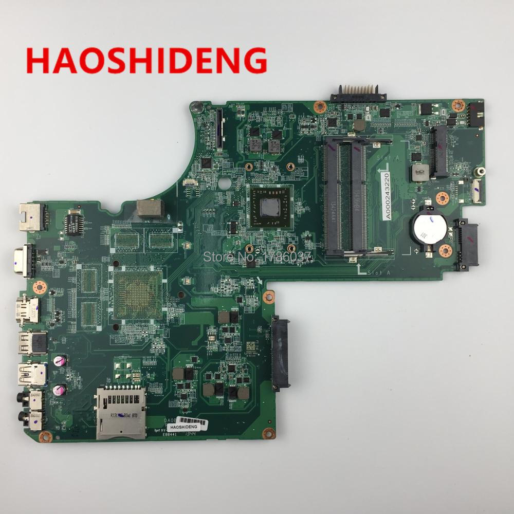 все цены на A000243220 DA0BD9MB8F0 for Toshiba Satellite C70D C75D series laptop motherboard .All functions fully Tested !