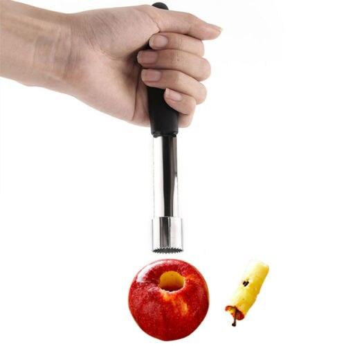 Новый Сталь легкий поворот ядро семян Remover Фрукты Яблоко бур pitter сеялки Кухня инструмент