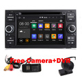 Android 5.1 1 Quad Core 1.6GHZ 7 Inch In Dash Car DVD Player For Ford Focus Transit Kuga Wifi Wifi 3G GPS Radio Free Camera+DVR