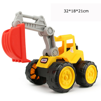 Big size Beach toy cars Engineering car vehicles truck excavator bulldozer model toys Classic Play house Toys kids Boy toys 2