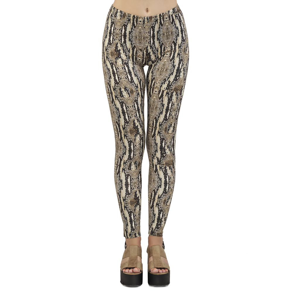 Popular Leggins Mujer Python Printing Snake Skin Legging Feminina Leggins Fitness Woman Flexible Pants Workout Leggings