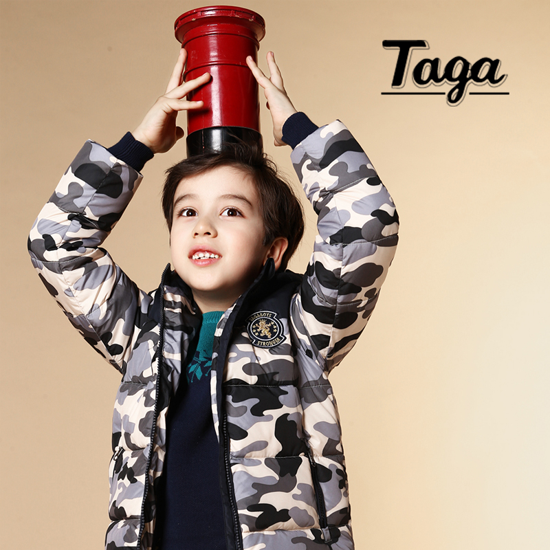 ФОТО TAGA High quality 3-14Y Boys winter fashion Jackets kids baby gilrs Casual warm coat Children thickening Parkas outfits TEMP-15