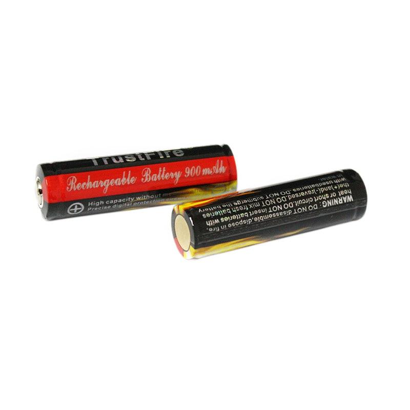 Baterias Recarregáveis 2 pcs! trustfire 3.7 v Modelo Número : Trustfire