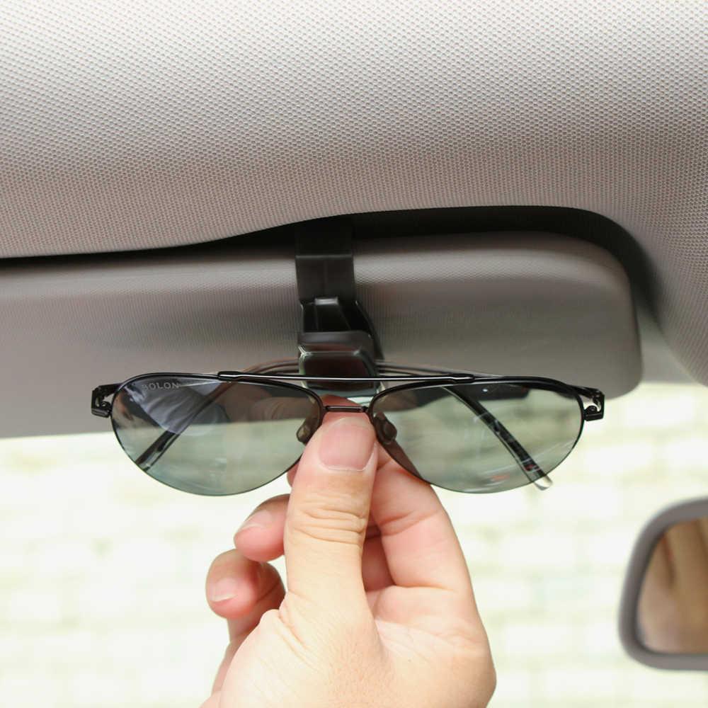 2019 حار بيع السيارات السحابة Cip اكسسوارات السيارات ABS سيارة الشمس قناع النظارات الشمسية نظارات نظارات حامل تذكرة كليب USPS
