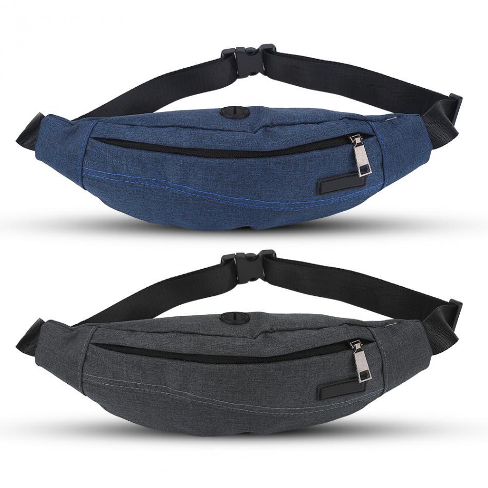 Blue Space Bear Sport Waist Packs Fanny Pack Adjustable For Run