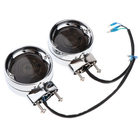 1 Pair Professional Motorcycle Turn Signal Light Smoke Lens Accessories Fits for Harley Touring Road King