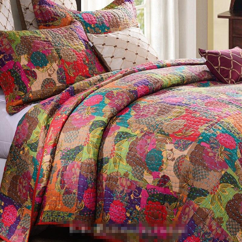 achetez en gros patchwork couverture en ligne des grossistes patchwork couverture chinois. Black Bedroom Furniture Sets. Home Design Ideas