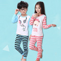 Free shipping Spring autumn new children's clothing cartoon kids thermal underwear sets children cotton comfortable underwear
