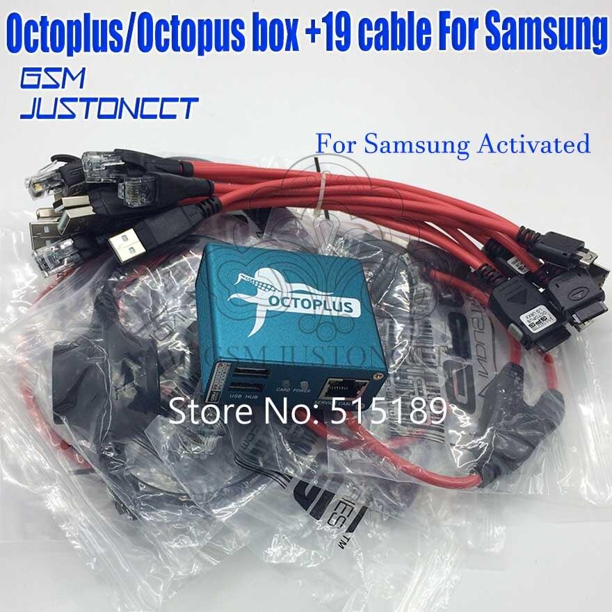 Date 100% D'origine Octopus boîte/octoplus box pour Samsung avec 18 câbles + + + + Livraison Gratuite