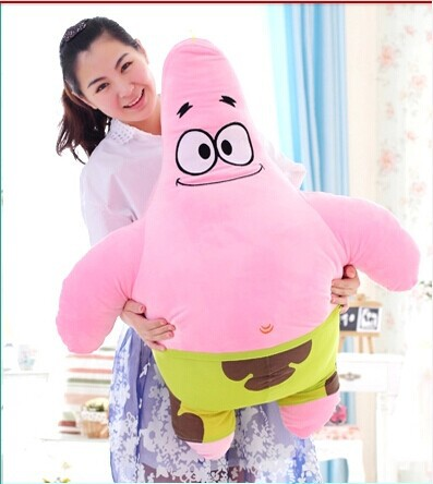 large 85cm Patrick Star in SpongeBob toy plush toy doll throw pillow gift w4031 patrick bruel rennes
