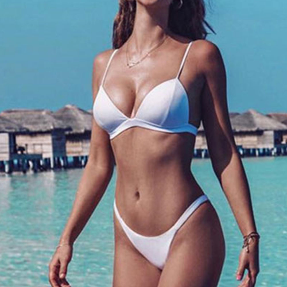 Sexy Bikini 19 Push Up Micro Bikinis Women Swimming Suit Brazilian Bikini Set Swimsuit Swimwear Women Bathing Suit Beachwear 23