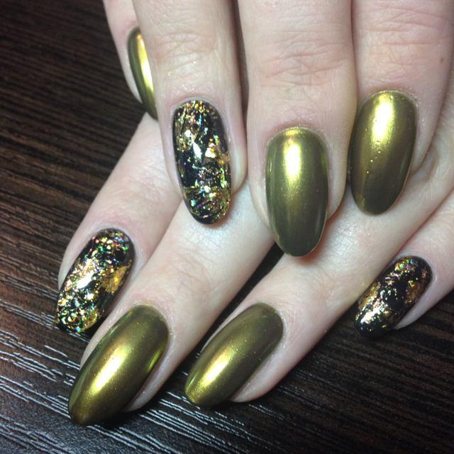 Online Shop 2 Box Mirror Powder Metallic Silver Pigment Nail Glitter ...