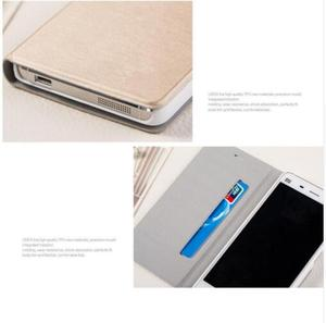 "Image 5 - Xiaomi mi4 Case Cover M4 MI 4 Luxury Slim Flip PU Leather Case Original size 5.0"" For Xiaomi Mi4 M4 Cover Bag screen protector"
