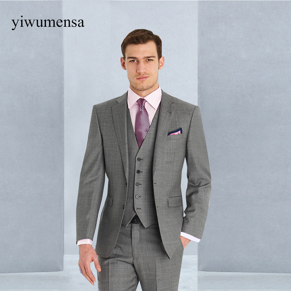 Famous Mens Gray Wedding Suits Ensign - All Wedding Dresses ...