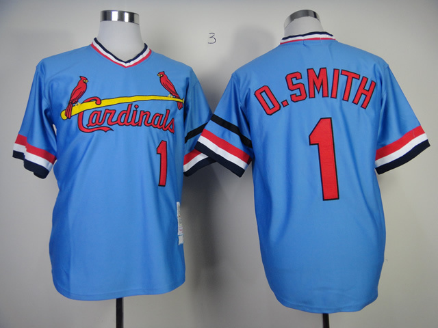 Free Shipping St Louis 1 Ozzie Smith Cooperstown Baseball