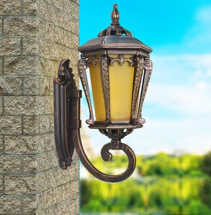 high-end upward waterproof wall lamp outdoor lamp garden lights outdoor  lighting wall lamps Contains LED bulb free shipping - Online Get Cheap Aluminum Containing Waterproof -Aliexpress.com