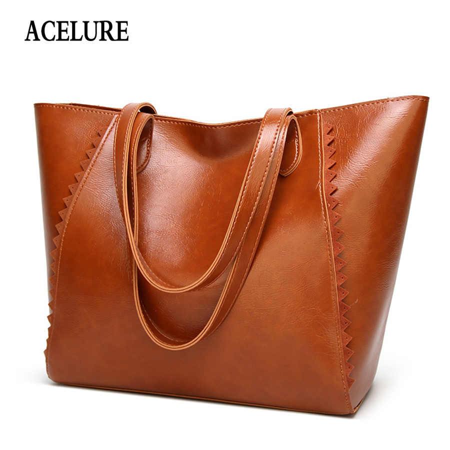 ACELURE Large-capacity women s handbag Casual Totes Women bag Simple  shopping big Shoulder bag for 97582d55cb644