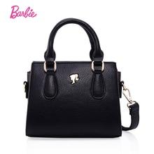 Barbie 2017 Popular Women Shoulder Bag Handbag Fashionable PU Leather Bag Single Strap Female Trapeze Bag with Large Capacity