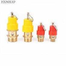 """1/"""" 1/4'' 3/"""" 1/2"""" BSP 8 кг воздушный компрессор предохранительный клапан Давление выпуск регулятор для Давление трубопроводы/сосуды"""