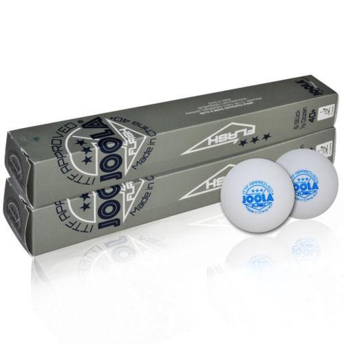 Wholesales link 72 Balls JOOLA 40 Seamless 3 Star Table Tennis Balls Plastic Ping Pong Balls