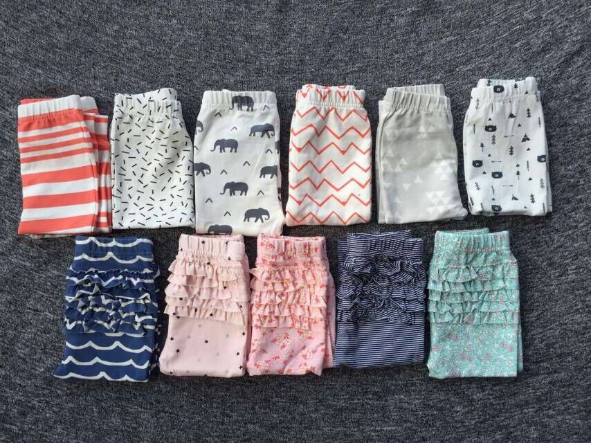 f1ba0ec33 1PCS New Infant Baby Girls Leggings Baby Cotton Pants 0 2 Year-in ...
